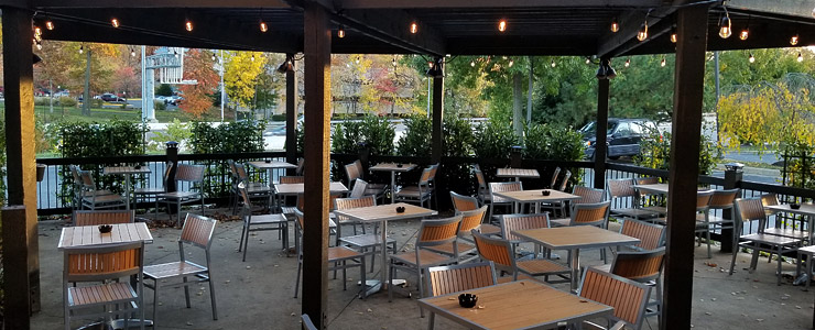 Carpool's outdoor patio